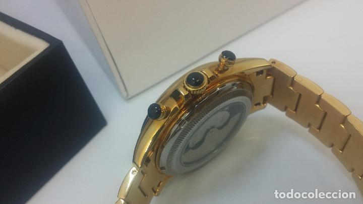Relojes automáticos: Reloj automatico de caballero Astronomy de Lancoste, seminuevo, dos puestas - Foto 62 - 101950579