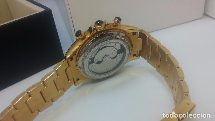 Relojes automáticos: Reloj automatico de caballero Astronomy de Lancoste, seminuevo, dos puestas - Foto 63 - 101950579