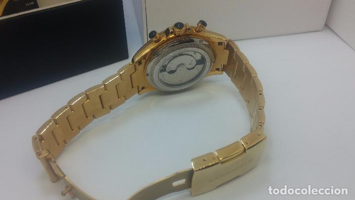 Relojes automáticos: Reloj automatico de caballero Astronomy de Lancoste, seminuevo, dos puestas - Foto 64 - 101950579