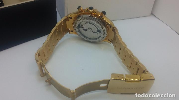 Relojes automáticos: Reloj automatico de caballero Astronomy de Lancoste, seminuevo, dos puestas - Foto 65 - 101950579