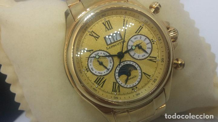 Relojes automáticos: Reloj automatico de caballero Astronomy de Lancoste, seminuevo, dos puestas - Foto 71 - 101950579