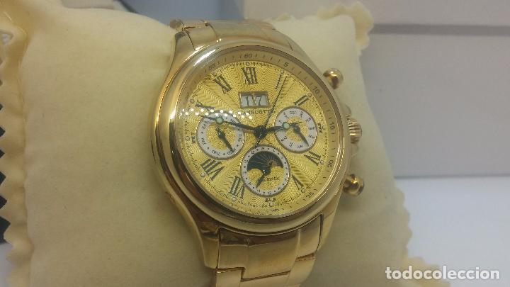 Relojes automáticos: Reloj automatico de caballero Astronomy de Lancoste, seminuevo, dos puestas - Foto 74 - 101950579