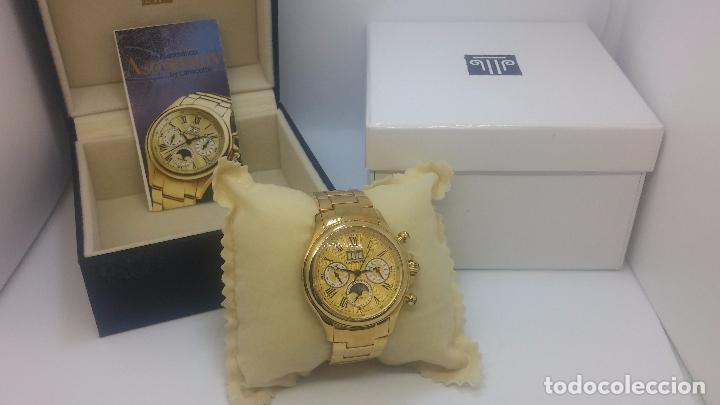 Relojes automáticos: Reloj automatico de caballero Astronomy de Lancoste, seminuevo, dos puestas - Foto 75 - 101950579