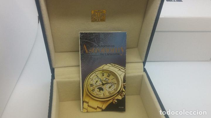 Relojes automáticos: Reloj automatico de caballero Astronomy de Lancoste, seminuevo, dos puestas - Foto 76 - 101950579