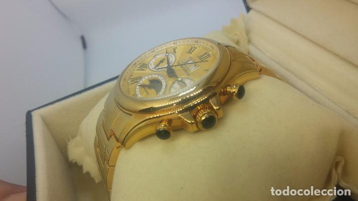 Relojes automáticos: Reloj automatico de caballero Astronomy de Lancoste, seminuevo, dos puestas - Foto 79 - 101950579