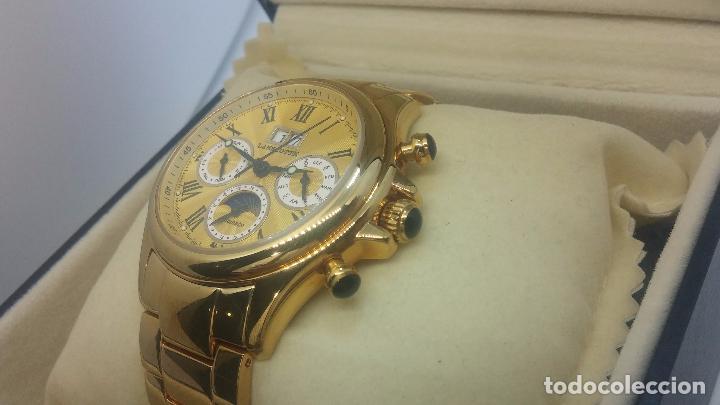 Relojes automáticos: Reloj automatico de caballero Astronomy de Lancoste, seminuevo, dos puestas - Foto 83 - 101950579