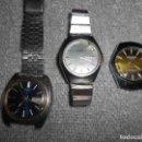 Relojes automáticos: LOTE DE RELOJES SEIKO CETIKON Y JOKAWACTH AUTOMATICOS ORIGINALES FUNCIONANDO AÑOS 70. Lote 102329651