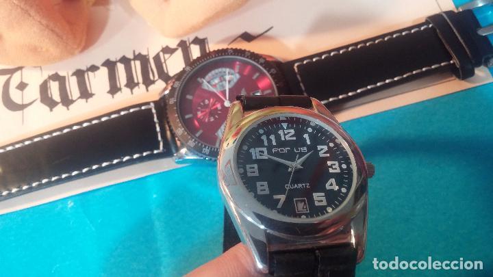 Relojes automáticos: Dos botitos relojes uno automático y otro cuarzo, en muy buen estado de revista y funcionamiento - Foto 7 - 102402199