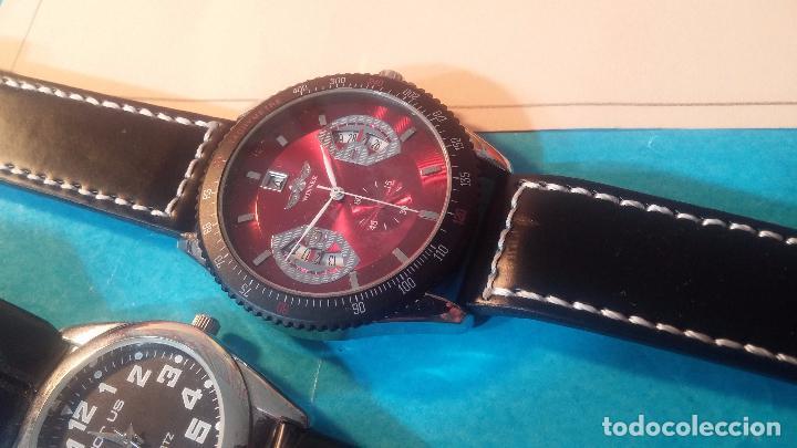 Relojes automáticos: Dos botitos relojes uno automático y otro cuarzo, en muy buen estado de revista y funcionamiento - Foto 10 - 102402199