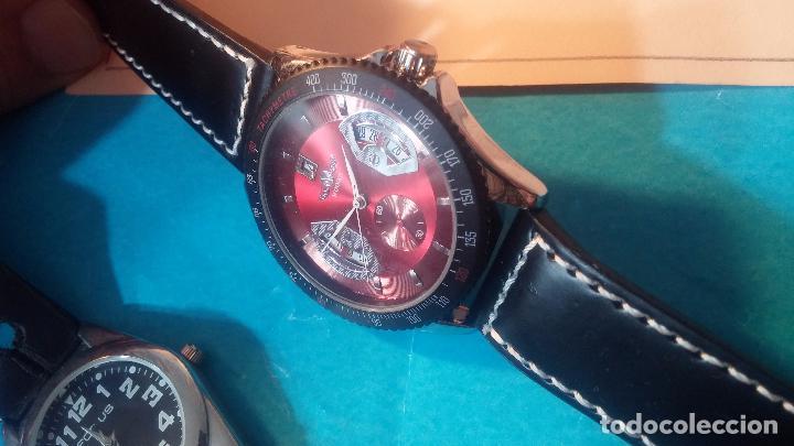 Relojes automáticos: Dos botitos relojes uno automático y otro cuarzo, en muy buen estado de revista y funcionamiento - Foto 12 - 102402199