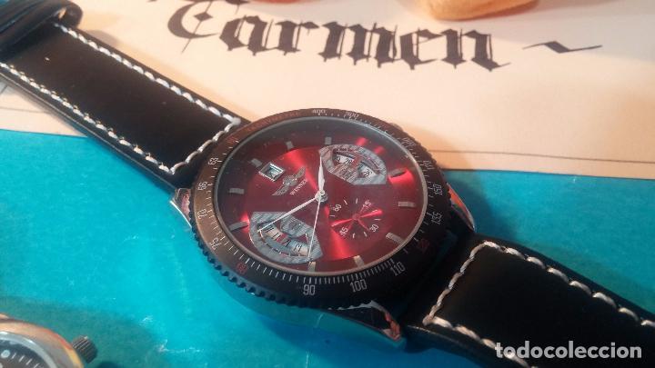 Relojes automáticos: Dos botitos relojes uno automático y otro cuarzo, en muy buen estado de revista y funcionamiento - Foto 13 - 102402199