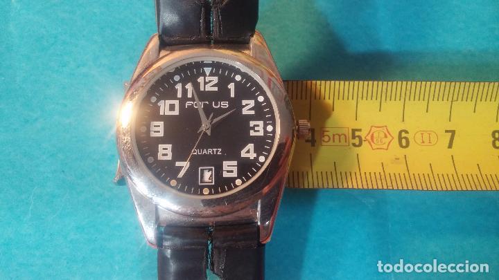 Relojes automáticos: Dos botitos relojes uno automático y otro cuarzo, en muy buen estado de revista y funcionamiento - Foto 19 - 102402199