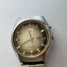 Relojes automáticos: RELOJ DE PULSERA AUTOMATICO, ORIENT CRYSTAL 21 JEWELS, FUNCIONANDO, ESFERA 30 MM. Lote 103146199