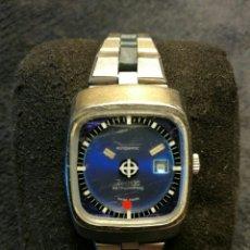 Relojes automáticos - ZODIAC ASTROGRAPHIC MISTERY DIAL 1970's Reloj automático de señora en el que tres discos acrí - 103460324