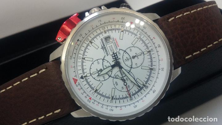 Relojes automáticos: Reloj Thunderbirs automatic, edicion limited, estilo aviador, de caballero - Foto 3 - 103808687