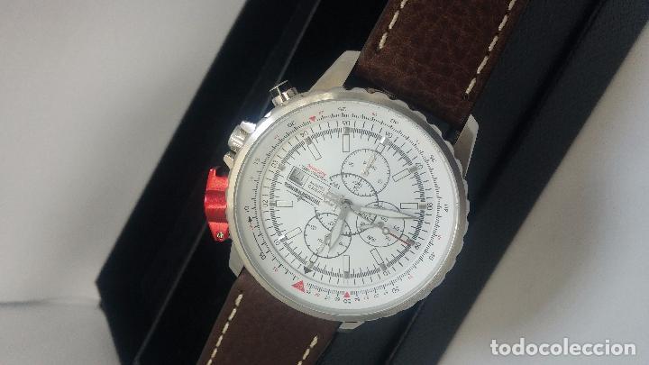 Relojes automáticos: Reloj Thunderbirs automatic, edicion limited, estilo aviador, de caballero - Foto 4 - 103808687
