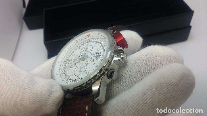 Relojes automáticos: Reloj Thunderbirs automatic, edicion limited, estilo aviador, de caballero - Foto 5 - 103808687