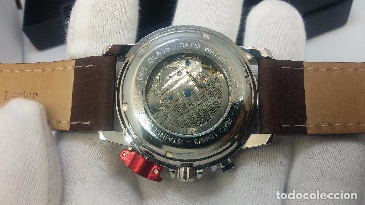 Relojes automáticos: Reloj Thunderbirs automatic, edicion limited, estilo aviador, de caballero - Foto 7 - 103808687
