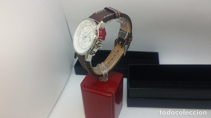 Relojes automáticos: Reloj Thunderbirs automatic, edicion limited, estilo aviador, de caballero - Foto 8 - 103808687