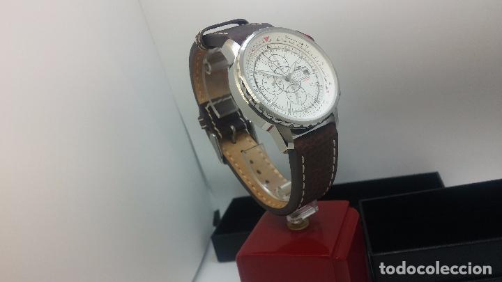 Relojes automáticos: Reloj Thunderbirs automatic, edicion limited, estilo aviador, de caballero - Foto 12 - 103808687