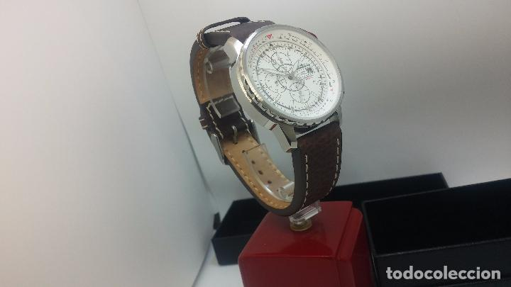 Relojes automáticos: Reloj Thunderbirs automatic, edicion limited, estilo aviador, de caballero - Foto 13 - 103808687