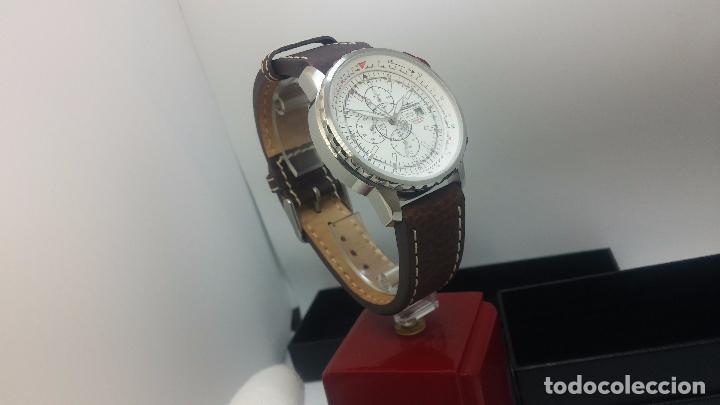 Relojes automáticos: Reloj Thunderbirs automatic, edicion limited, estilo aviador, de caballero - Foto 14 - 103808687