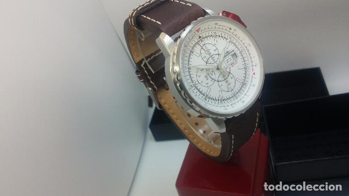 Relojes automáticos: Reloj Thunderbirs automatic, edicion limited, estilo aviador, de caballero - Foto 15 - 103808687