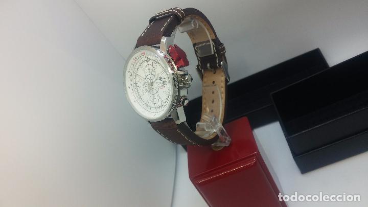 Relojes automáticos: Reloj Thunderbirs automatic, edicion limited, estilo aviador, de caballero - Foto 17 - 103808687
