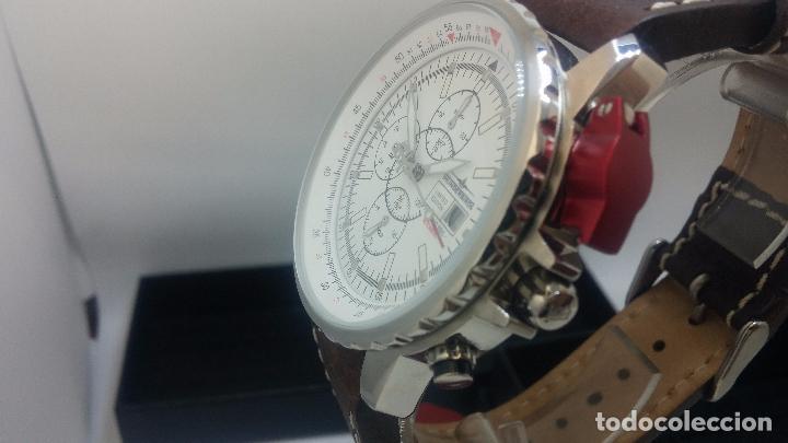 Relojes automáticos: Reloj Thunderbirs automatic, edicion limited, estilo aviador, de caballero - Foto 21 - 103808687