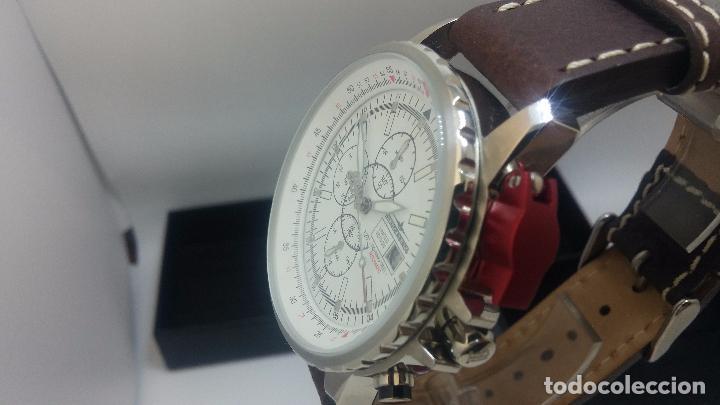 Relojes automáticos: Reloj Thunderbirs automatic, edicion limited, estilo aviador, de caballero - Foto 22 - 103808687