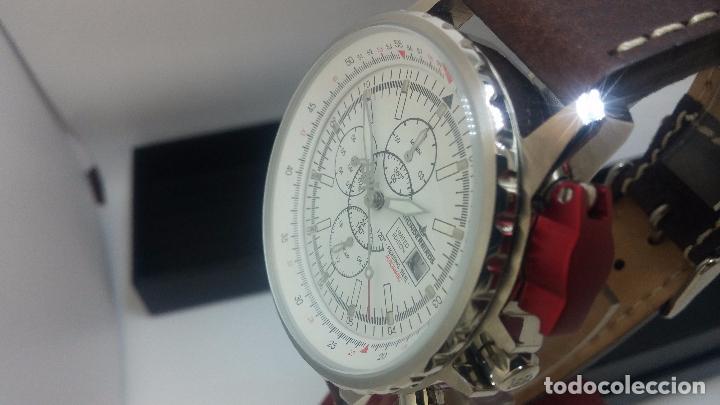 Relojes automáticos: Reloj Thunderbirs automatic, edicion limited, estilo aviador, de caballero - Foto 23 - 103808687