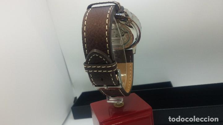 Relojes automáticos: Reloj Thunderbirs automatic, edicion limited, estilo aviador, de caballero - Foto 24 - 103808687
