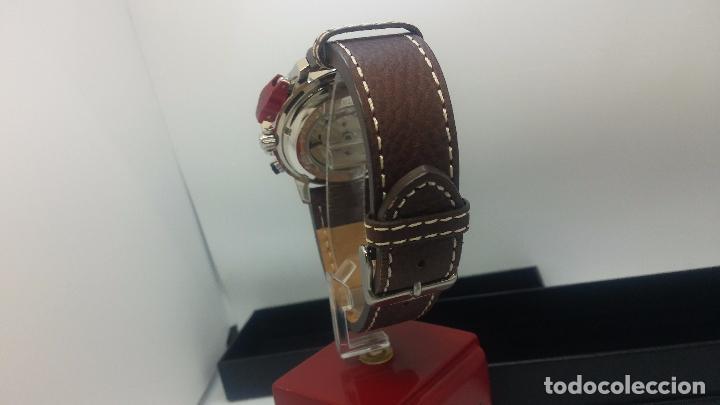 Relojes automáticos: Reloj Thunderbirs automatic, edicion limited, estilo aviador, de caballero - Foto 25 - 103808687
