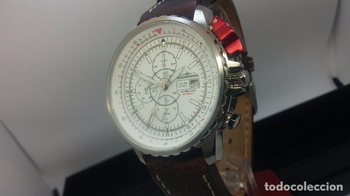 Relojes automáticos: Reloj Thunderbirs automatic, edicion limited, estilo aviador, de caballero - Foto 28 - 103808687