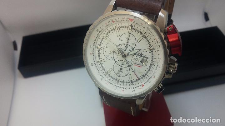 Relojes automáticos: Reloj Thunderbirs automatic, edicion limited, estilo aviador, de caballero - Foto 31 - 103808687