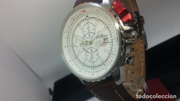 Relojes automáticos: Reloj Thunderbirs automatic, edicion limited, estilo aviador, de caballero - Foto 32 - 103808687