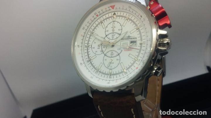 Relojes automáticos: Reloj Thunderbirs automatic, edicion limited, estilo aviador, de caballero - Foto 34 - 103808687