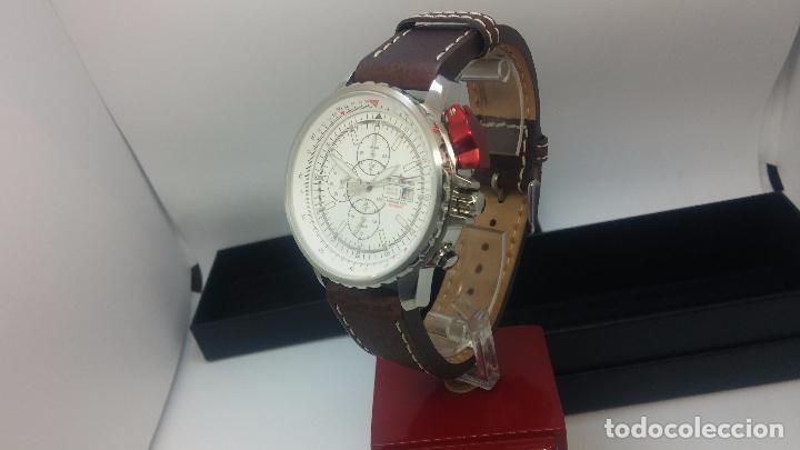 Relojes automáticos: Reloj Thunderbirs automatic, edicion limited, estilo aviador, de caballero - Foto 35 - 103808687