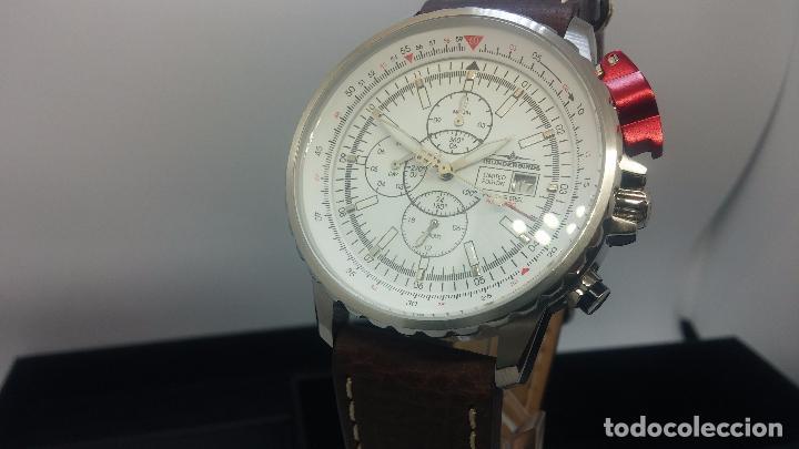 Relojes automáticos: Reloj Thunderbirs automatic, edicion limited, estilo aviador, de caballero - Foto 36 - 103808687