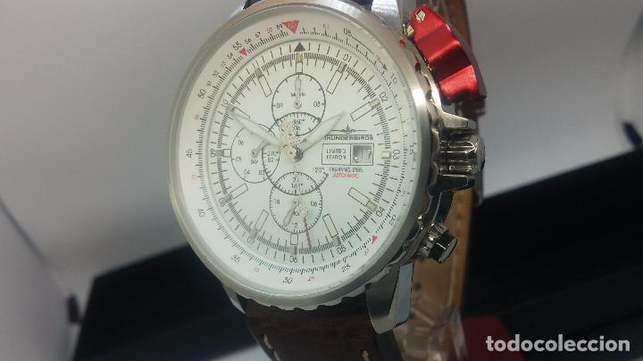 Relojes automáticos: Reloj Thunderbirs automatic, edicion limited, estilo aviador, de caballero - Foto 37 - 103808687