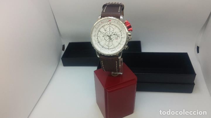 Relojes automáticos: Reloj Thunderbirs automatic, edicion limited, estilo aviador, de caballero - Foto 38 - 103808687