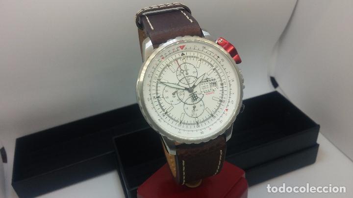 Relojes automáticos: Reloj Thunderbirs automatic, edicion limited, estilo aviador, de caballero - Foto 39 - 103808687