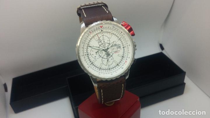 Relojes automáticos: Reloj Thunderbirs automatic, edicion limited, estilo aviador, de caballero - Foto 40 - 103808687