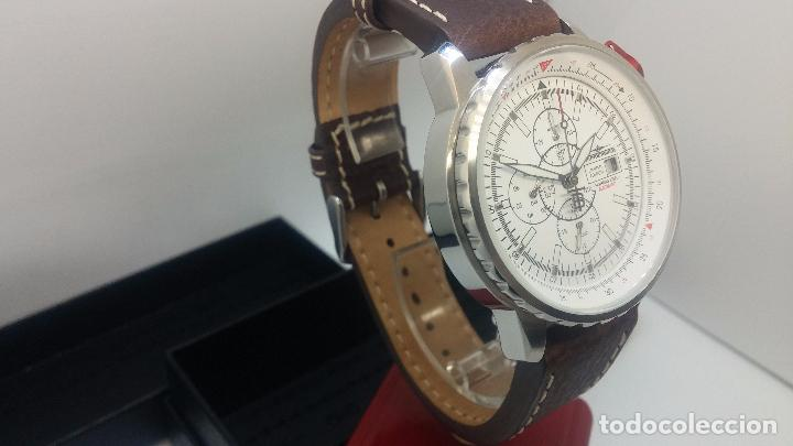 Relojes automáticos: Reloj Thunderbirs automatic, edicion limited, estilo aviador, de caballero - Foto 41 - 103808687