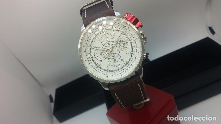 Relojes automáticos: Reloj Thunderbirs automatic, edicion limited, estilo aviador, de caballero - Foto 43 - 103808687