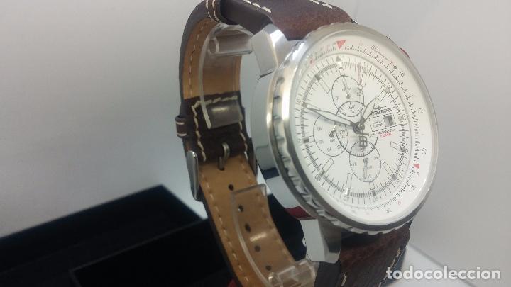 Relojes automáticos: Reloj Thunderbirs automatic, edicion limited, estilo aviador, de caballero - Foto 44 - 103808687
