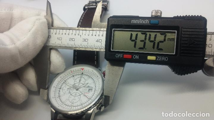 Relojes automáticos: Reloj Thunderbirs automatic, edicion limited, estilo aviador, de caballero - Foto 45 - 103808687