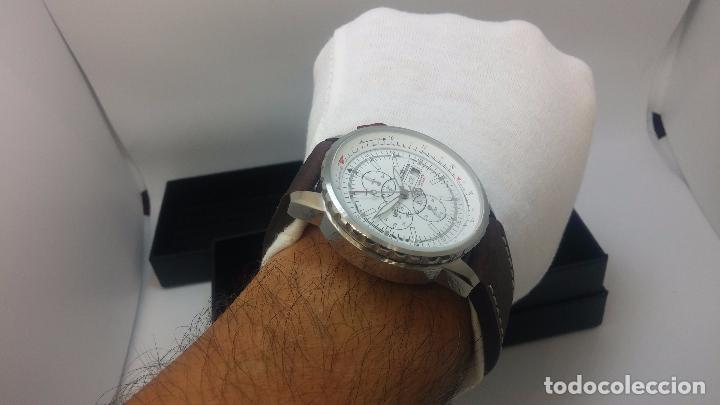 Relojes automáticos: Reloj Thunderbirs automatic, edicion limited, estilo aviador, de caballero - Foto 46 - 103808687