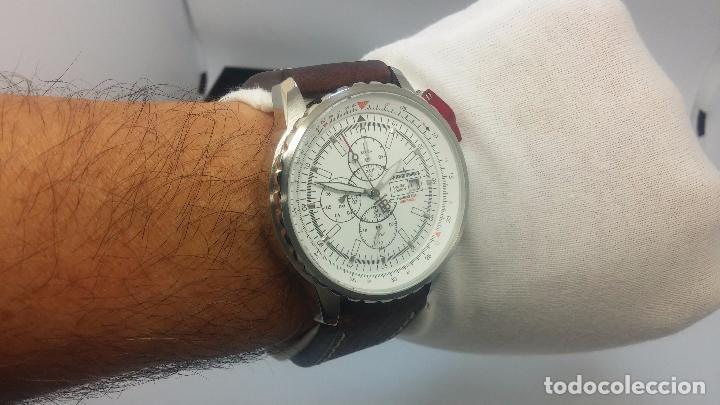 Relojes automáticos: Reloj Thunderbirs automatic, edicion limited, estilo aviador, de caballero - Foto 47 - 103808687