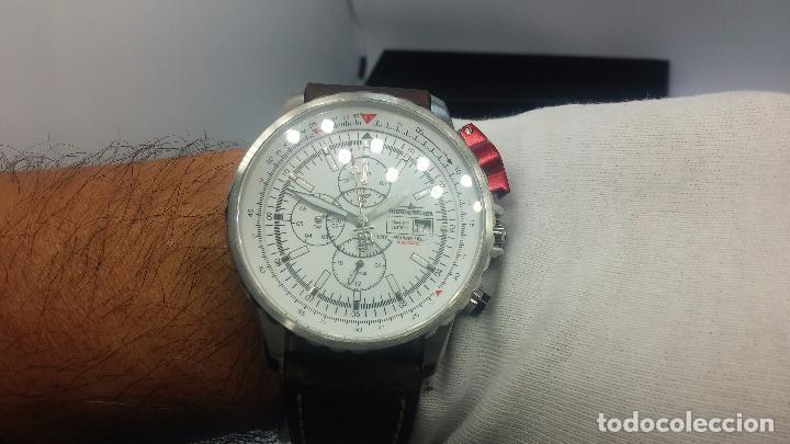 Relojes automáticos: Reloj Thunderbirs automatic, edicion limited, estilo aviador, de caballero - Foto 48 - 103808687